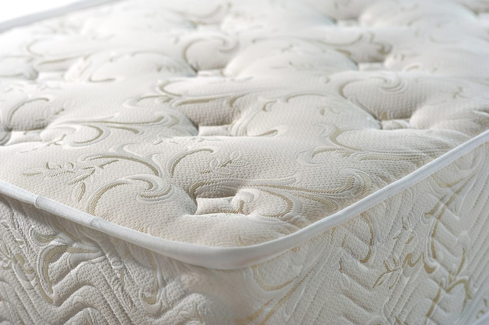 mattress texture tissue jacquard on a white background
