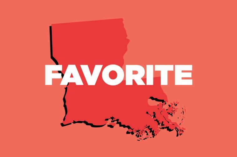 favorite louisiana