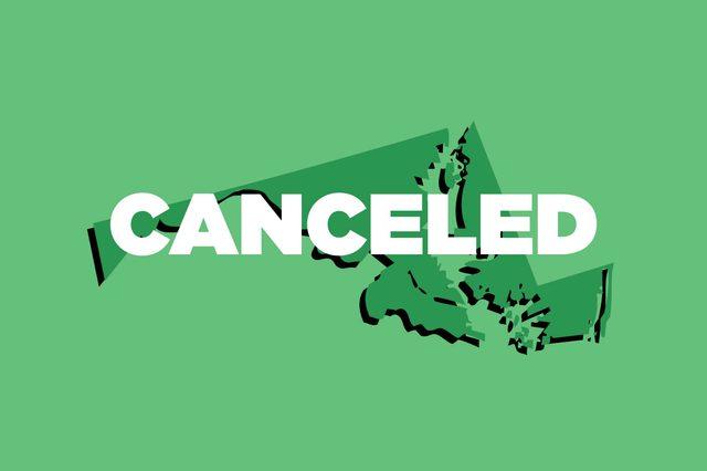 canceled maryland