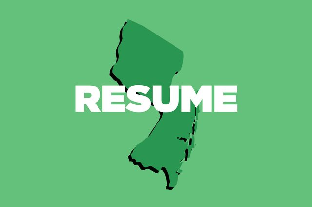 resume new jersey