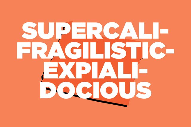 supercalifragilisticexpialidocious oregon