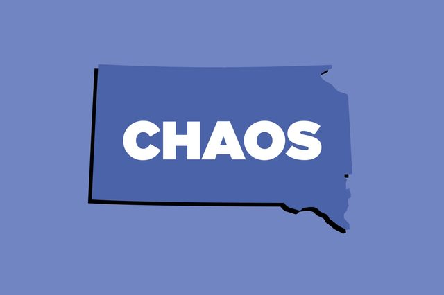 chaos south dakota