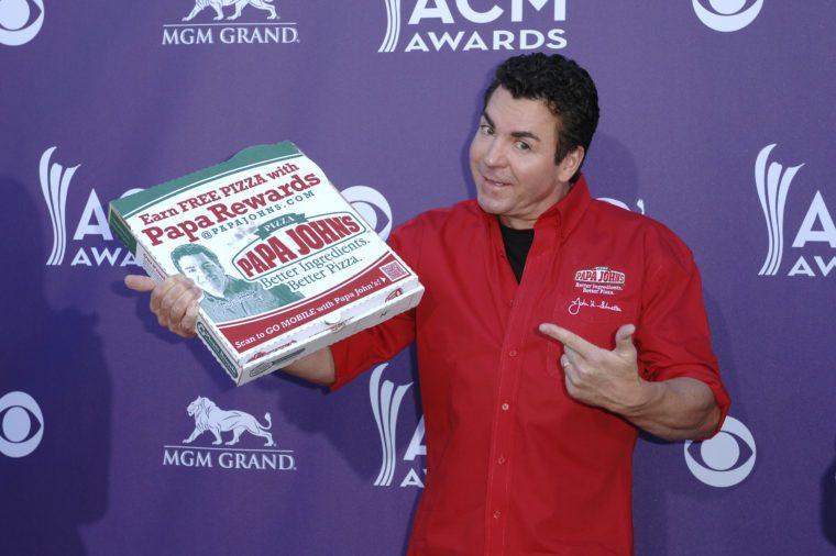 47. výročná cena Akadémie country hudby, prílety, Las Vegas, Amerika - 1. apríla 2012