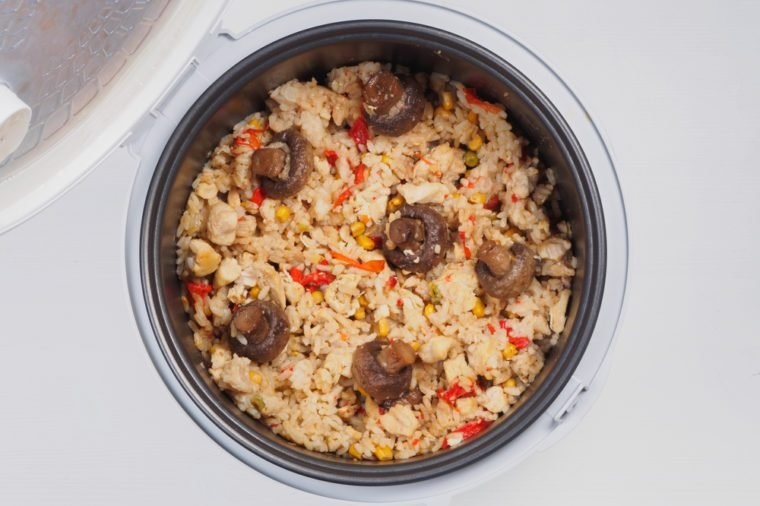 Multicooker with pilaf