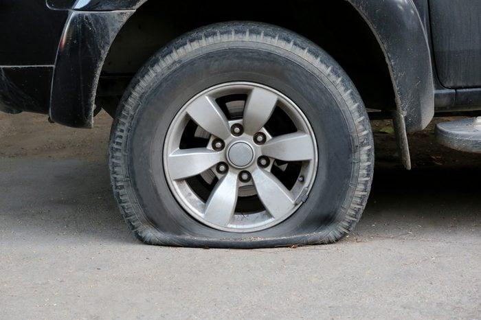 Tire leak