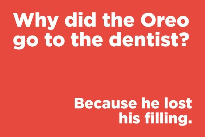 Why did the Oreo go to the dentist?