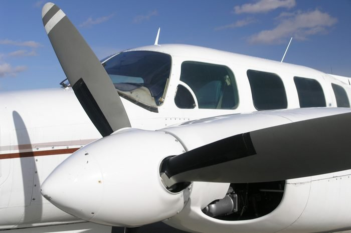 Business travel is often done in planes like this with the advantage of direct flight anywhere you wish to go.