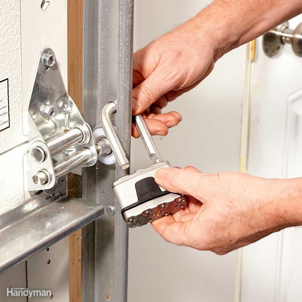 lock the overhead door