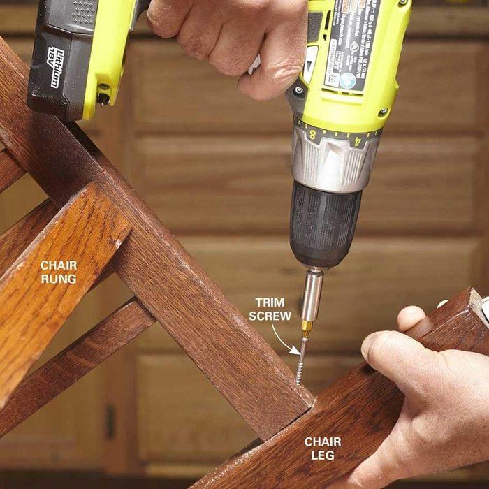 repair a chair