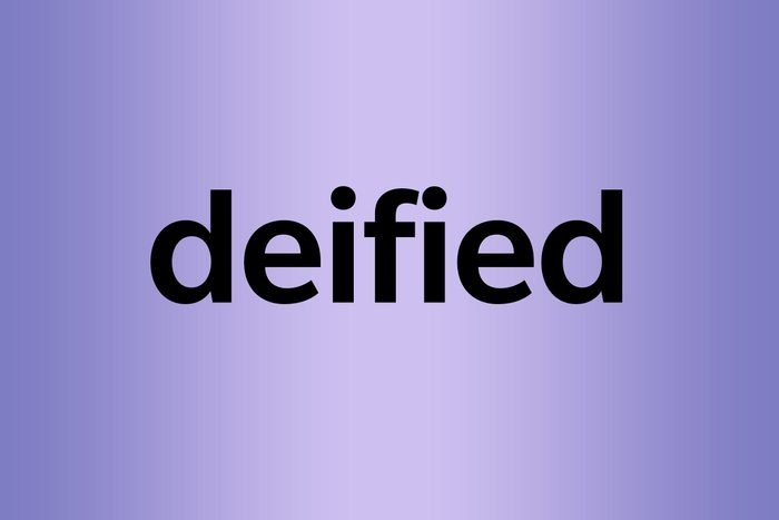 deified palindrome words