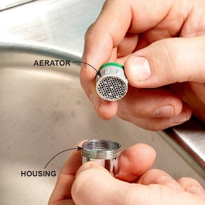 fixing a faucet