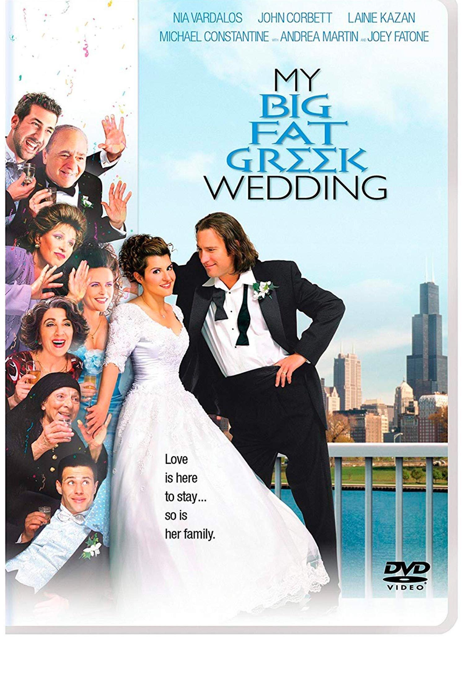 My Big Fat Greek Wedding Cover