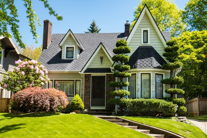 Classic craftsman house in Portland, Oregon
