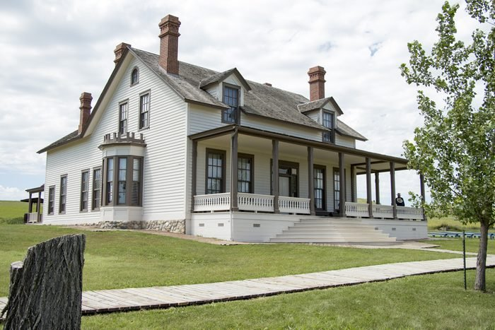 Custer House, Fort Abraham Lincoln State Park, Mandan, ND