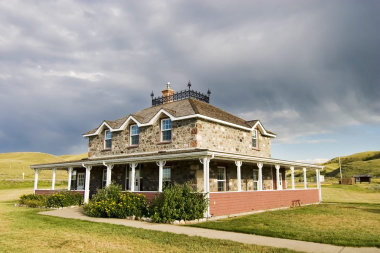 Goodwin House in Southern Saskatchewan, in the Saskatchewan Landing