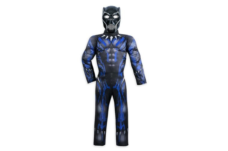 marvel black panther light up costume for kids size 56