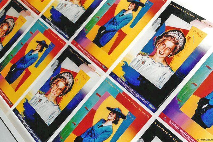 Princess Diana colorful portraits