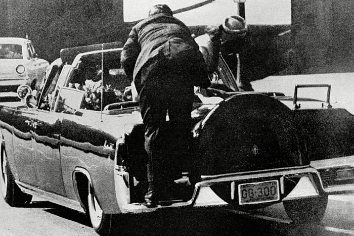 Rear view of car JFK was in