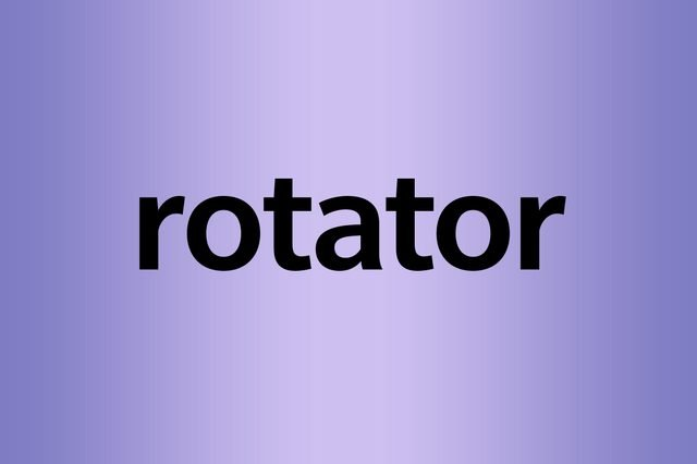What is a palindrome rotator
