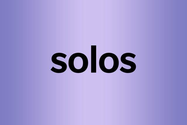 What is a palindrome solos