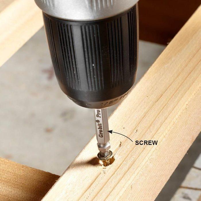 stripped screw