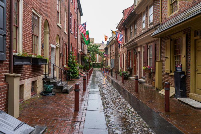 Philadelphia elfreth's alley