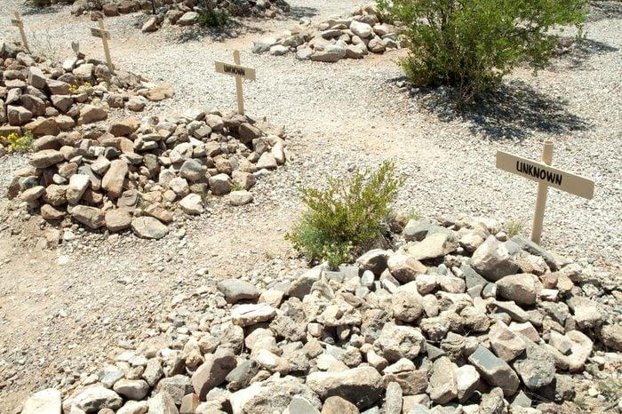 Boothill Graveyard in Tombstone, Arizona