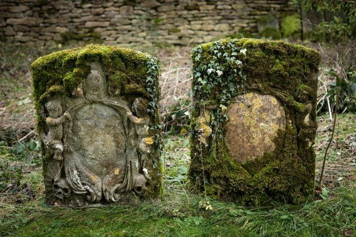 very old grave stones