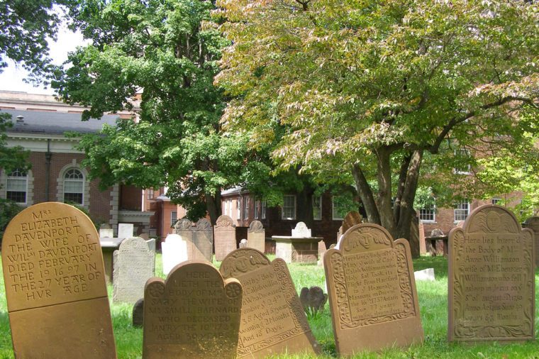 Ancient Burying Ground, Hartford CT