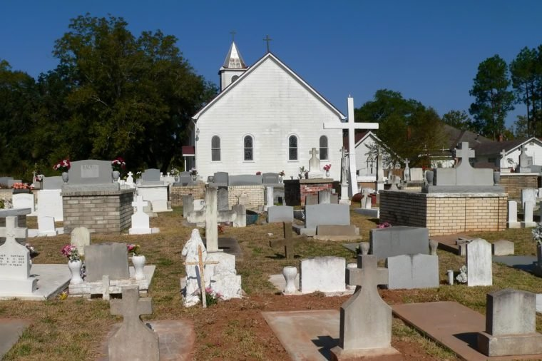 Historic Cemetery, Natchitoches Louisiana
