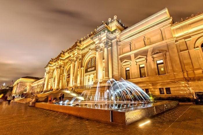 The metropolitan museum of art in NY