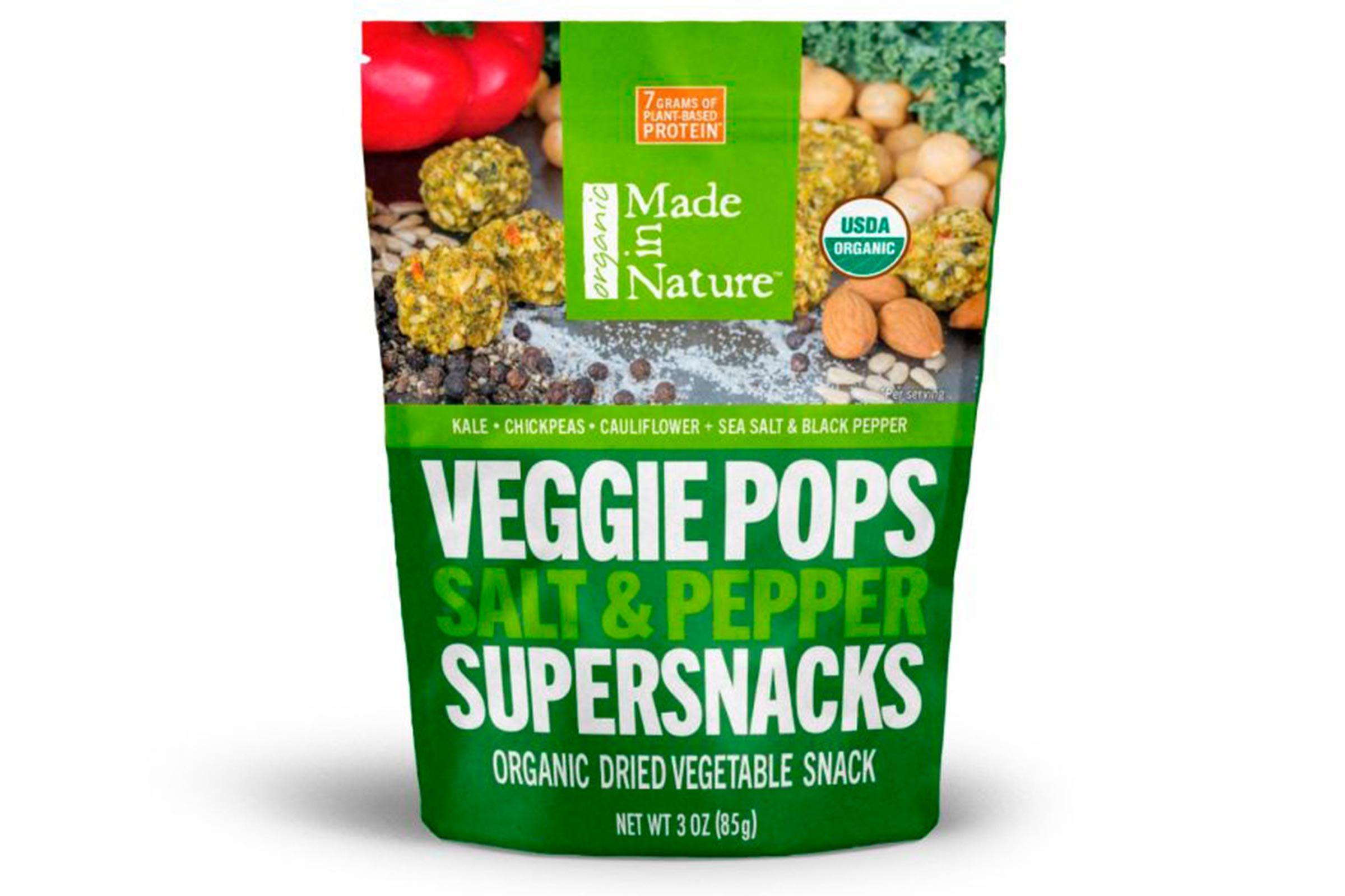 organic snacks at walmart