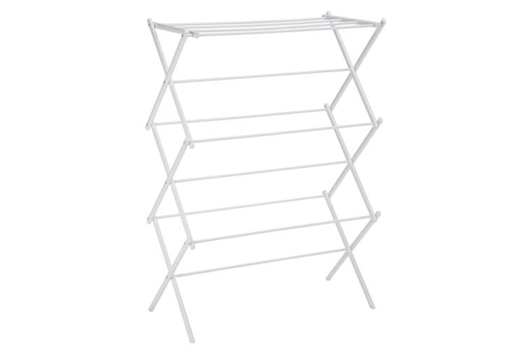 AmazonBasics Foldable Drying Rack - White