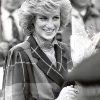 Diana - Princess Of Wales - February 1985 Princess Of Wales Visits A Barnardos In Ilford. ...royalty Princess Diana Of Wales (died 31/8/1997)