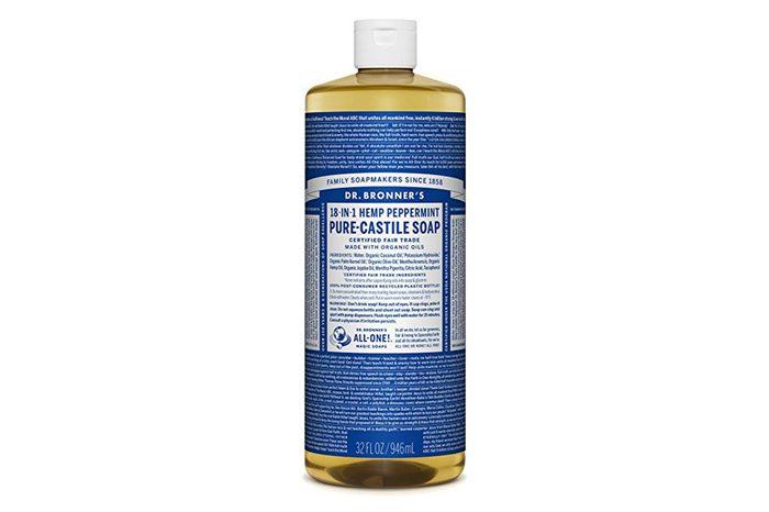 Dr. Bronner's Pure Liquid Castile Soap - Peppermint 32oz