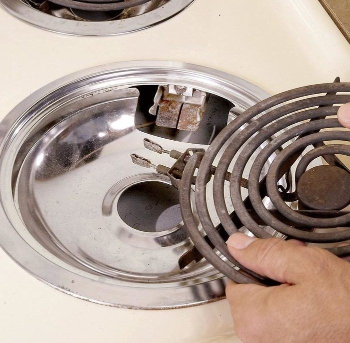 fixing an electric stove