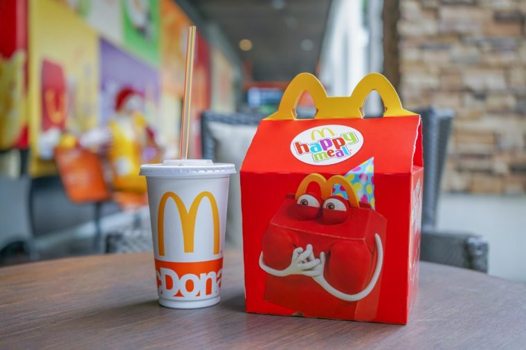 How The McDonald's Happy Meal Has Changed Over the Years
