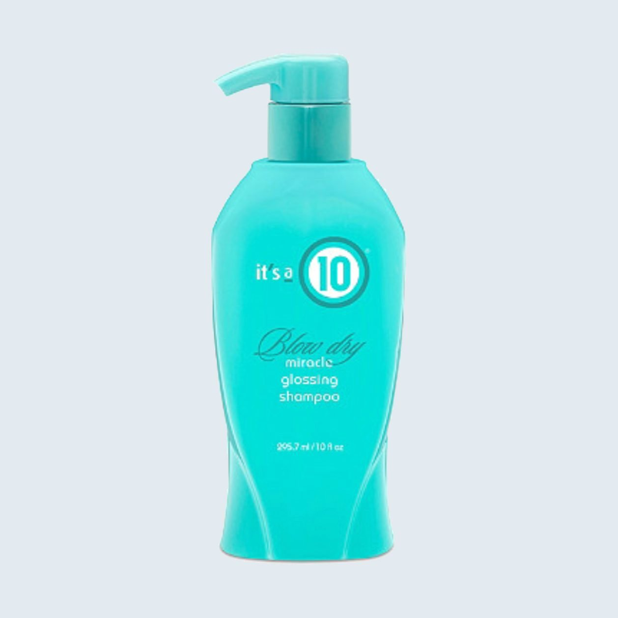 It's a 10 Miracle Blow Dry Glossing Shampoo