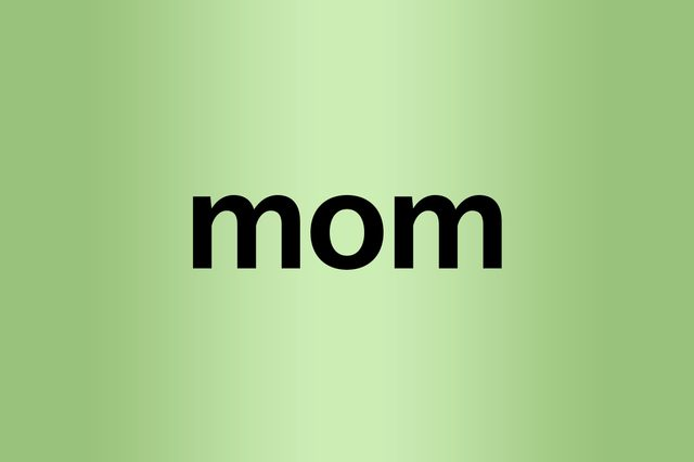 mom palindrome words