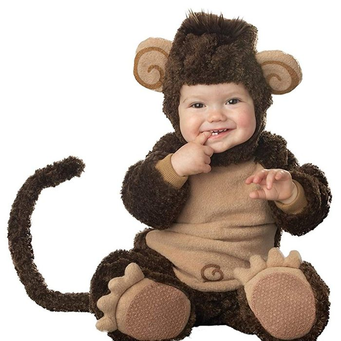 monkey baby costume
