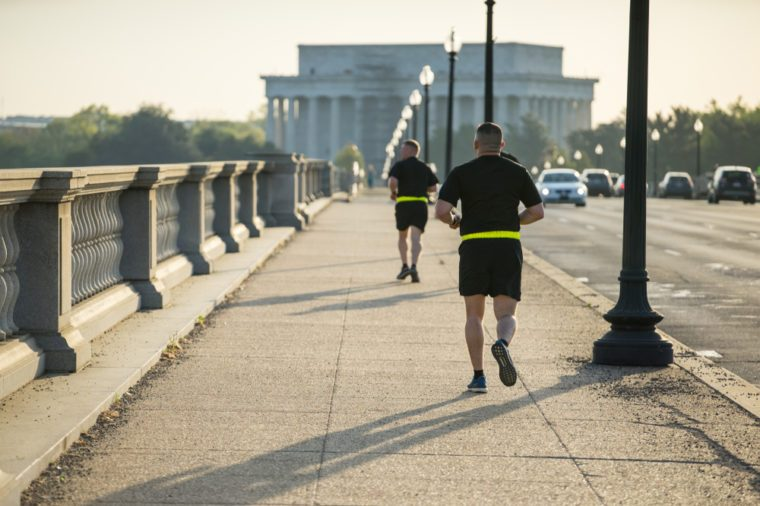 Morning Exercise in Washington DC