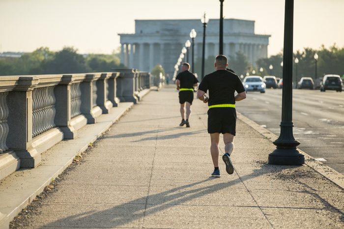 Morning Exercise in Washington DC
