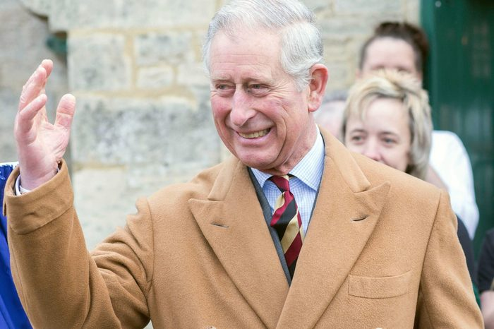 Prince Charles in Sherston, Wiltshire, Britain - 25 Nov 2013