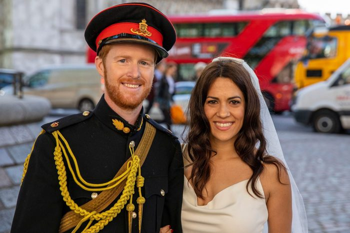 Prince Harry and Meghan Markle lookalikes, Westminster, London, UK - 14 May 2018