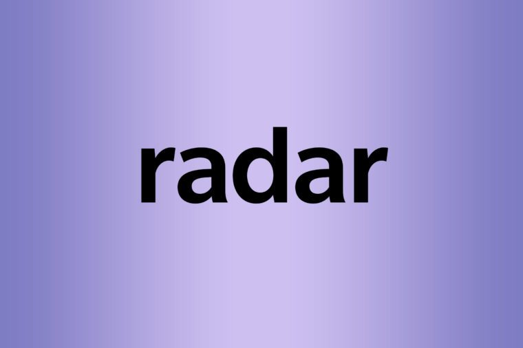 What is a palindrome radar