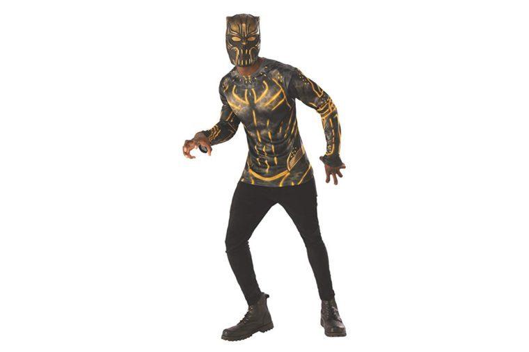 Rubie's Men's Erik Killmonger Costume Top Set