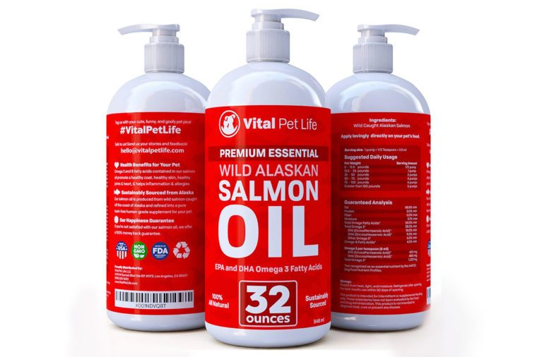 vital pet life salmon oil