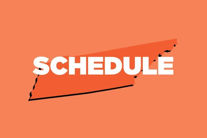 schedule tennessee