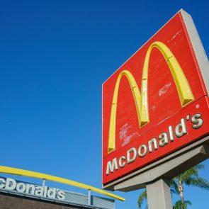 mcdonald's in california