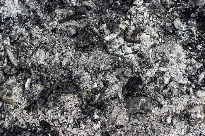 Ashes texture, may use as a background